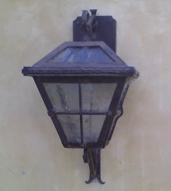 Lake Sherwood Exterior Lighting Sconce